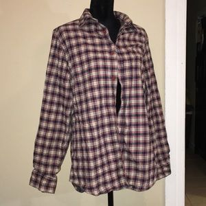 NWOT Old navy plaid shirt